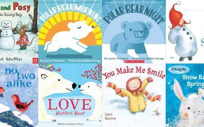 Eleven Board Books about Winter