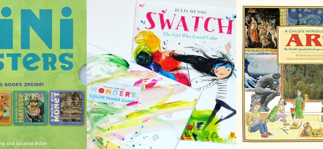 The Art Lover (or books to make/force your kid to love art)