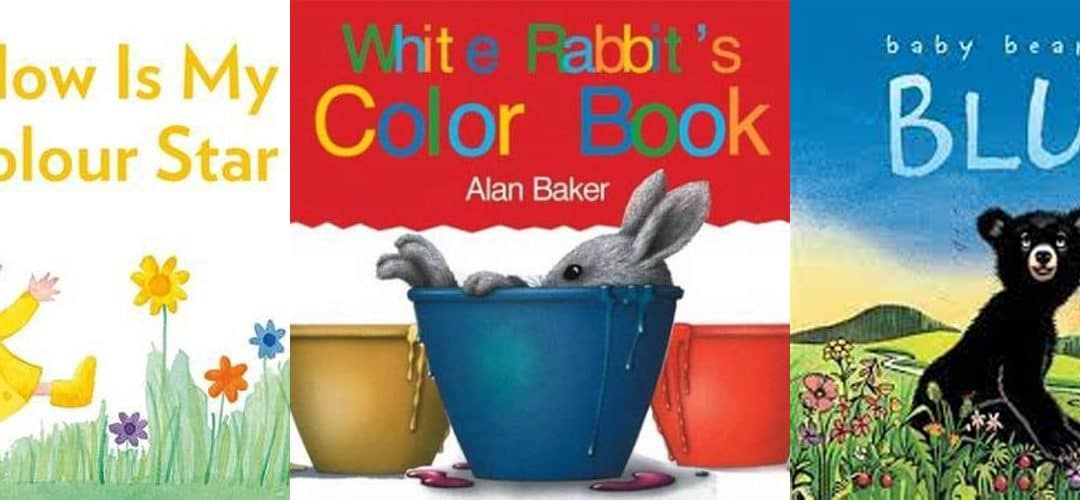 Colouring the Rainbow – Toddlers & Preschoolers