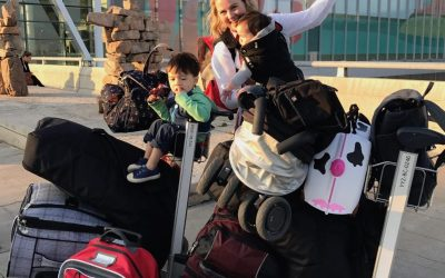 How to Get Around the Airport with Kids