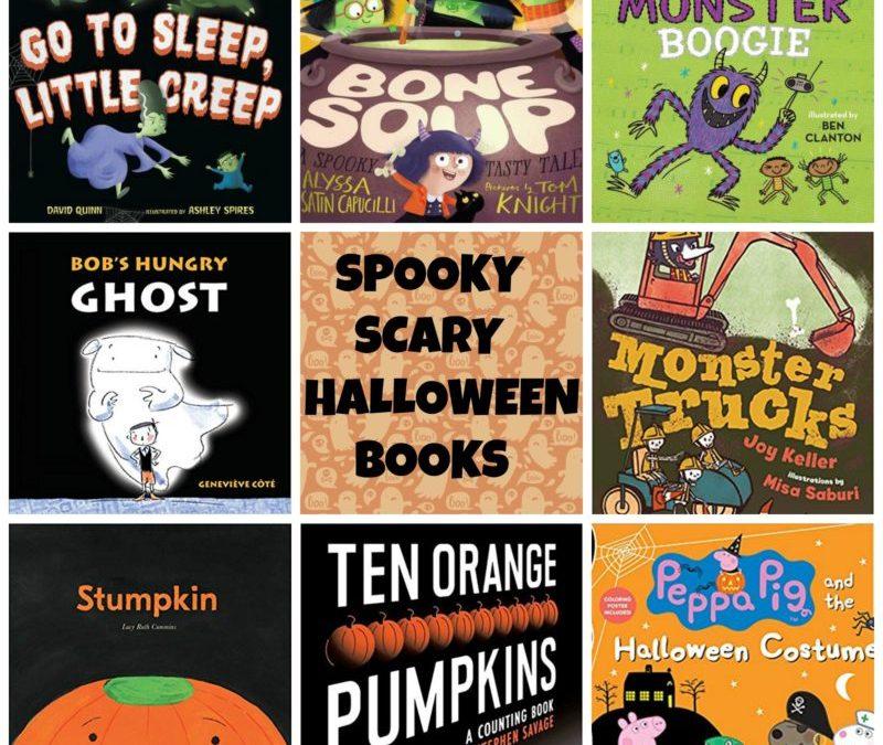 Spooky, Creepy, Not-So-Scary Halloween Books 2018