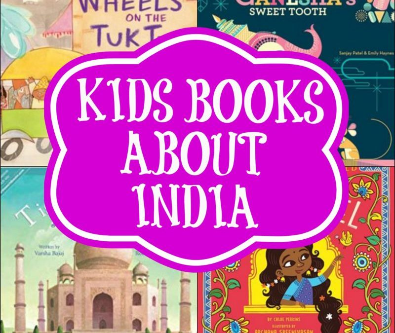 What My Kids are Reading This Week: A Trip to India