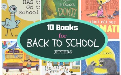 Back to School Jitters Books