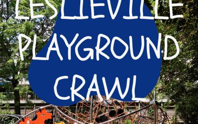 Leslieville Playground Crawl