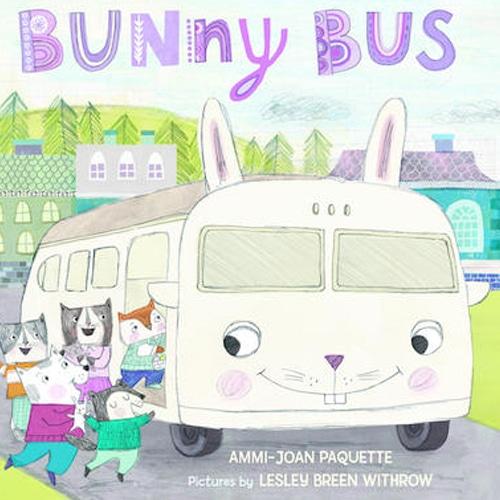 Children's Books - Bunny Bus by Ammi-Joan Paquette