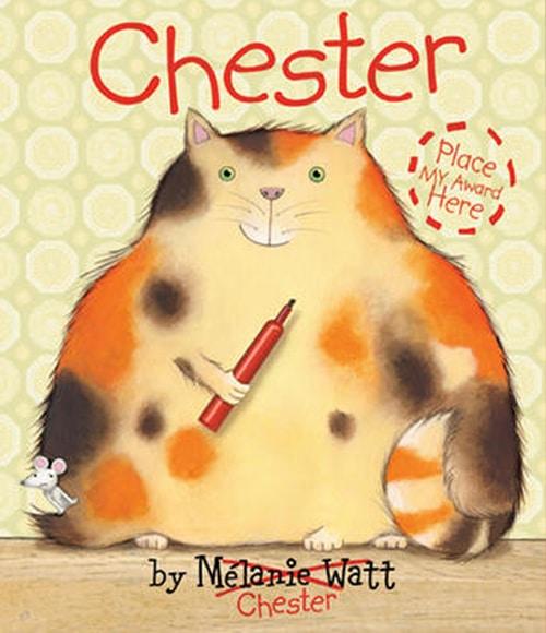 Children's Books - Chester by Melanie Watt
