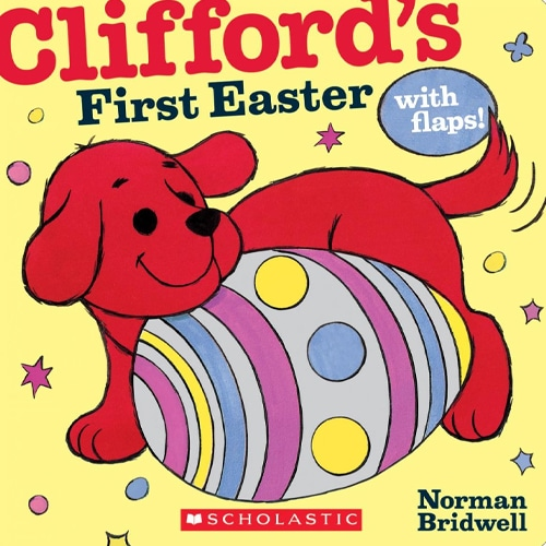 Children's Books - Clifford's First Easter with Flaps by Norman Bridwell