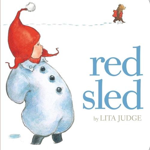 Children's Books - Red Sled by Lita Judge