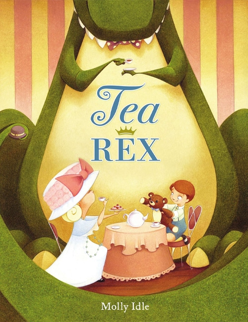 Children's Books - Tea Rex by Molly Idle