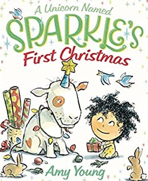 Children's Books - A Unicorn Named Sparkle's First Christmas by Amy Young