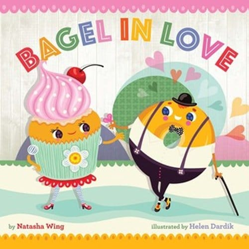 Children's Books - Bagel in Love by Natasha Wing