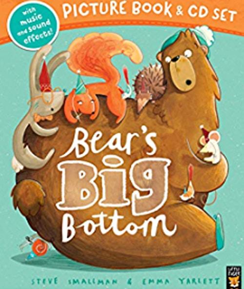 Children's Books - Bear's Big Bottom by Steve Smallman