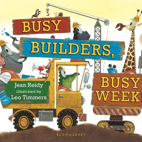 Children's Books - Busy Builders, Busy Week! by Jean Reidy