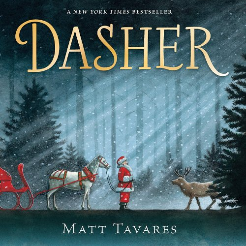Children's Books - Dasher by Matt Tavares