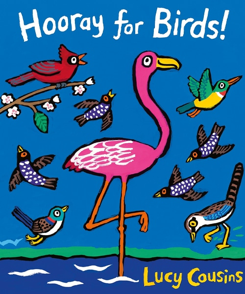 Children's Books - Hooray For Birds! by Lucy Cousins