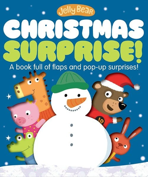 Children's Books - Jelly Bear Christmas Surprise! by Stephanie Stansbie