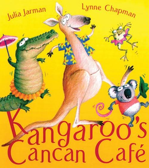 Children's Books - Kangaroo's Cancan Café by Julia Jarman