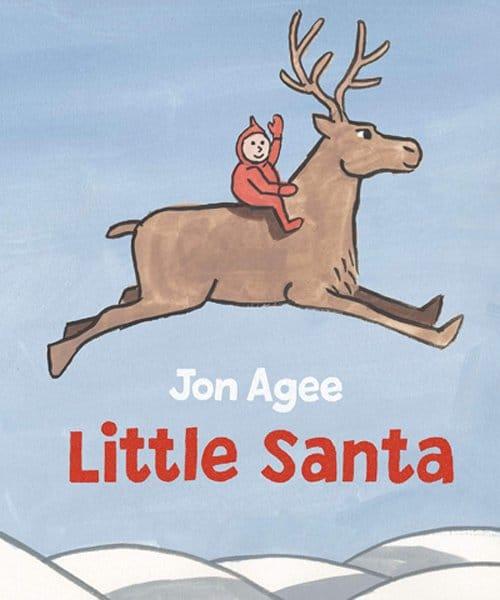 Children's Books - Little Santa by Jon Agee
