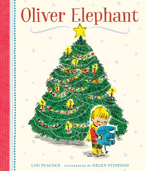 Children's Books - Oliver Elephant by Lou Peacock