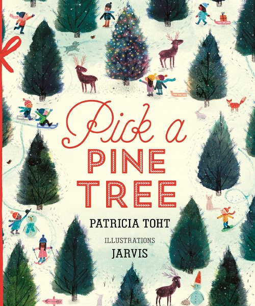 Children's Books - Pick a Pine Tree by Patricia Toht
