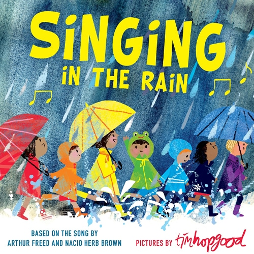 What My Kids Are Reading This Week:  Rainy Weather!