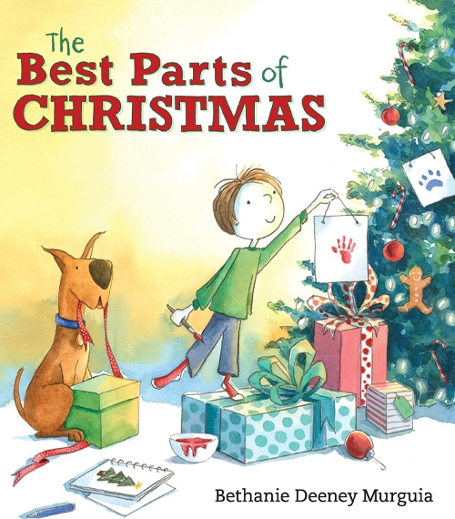 Children's Books - The Best Parts of Christmas by Bethanie Deeney Murguia