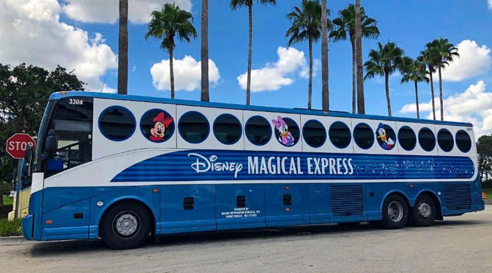 Disneys Magical Express Bus