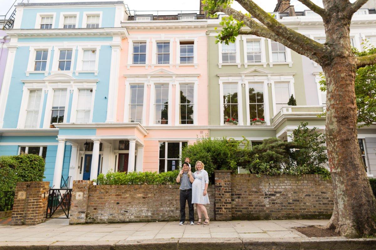 Family in London