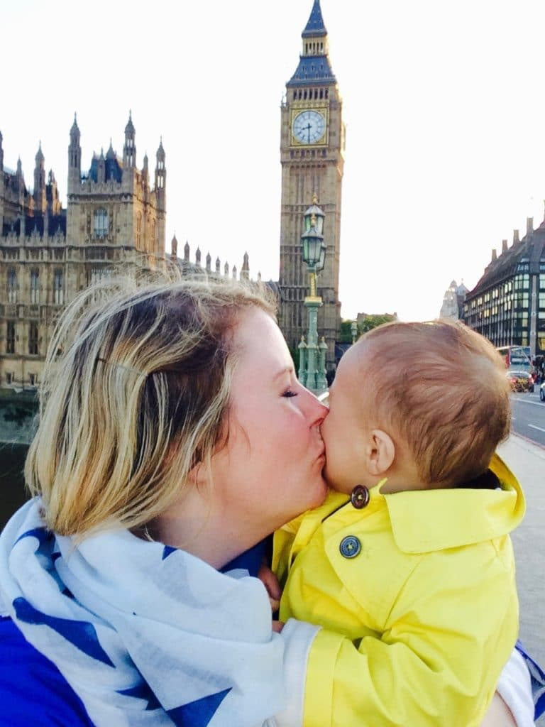 London with a Baby